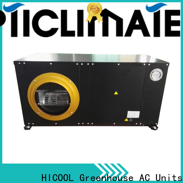 HICOOL water cooled package system supplier for offices