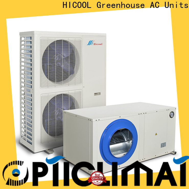 HICOOL split level air conditioning systems best manufacturer for apartments