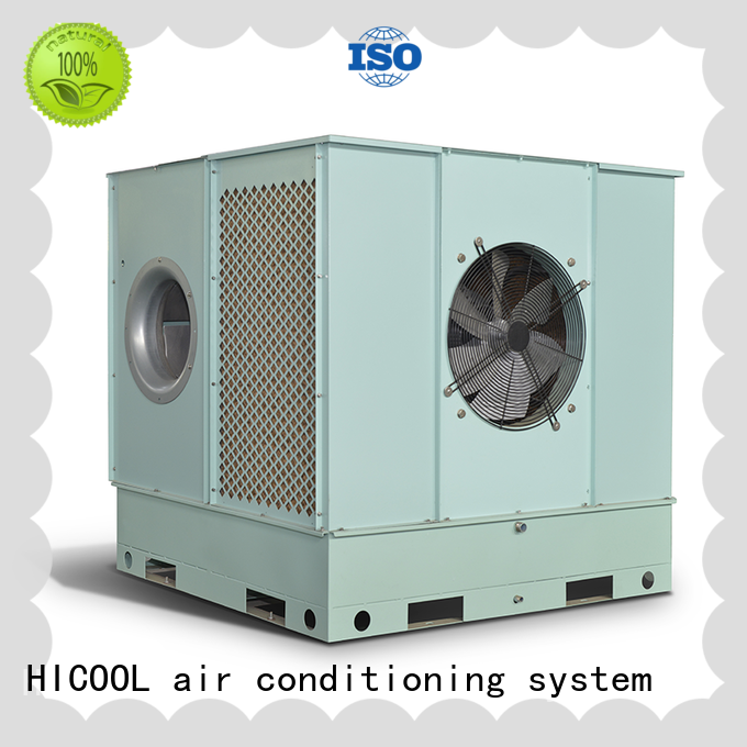 apartments horticulture HICOOL Brand direct and indirect evaporative cooling factory