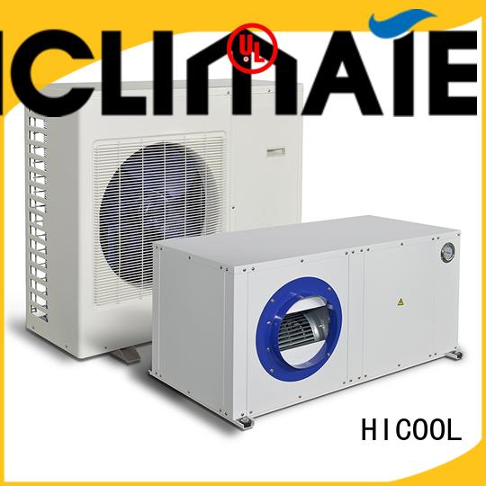 greenhouse yachts split heat pump HICOOL Brand