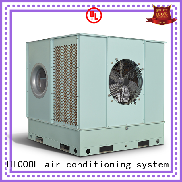 direct and indirect evaporative cooling greenhouse control light HICOOL Brand evaporative cooling unit