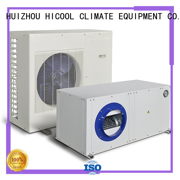 HICOOL Brand control yachts split system heating and cooling offices supplier