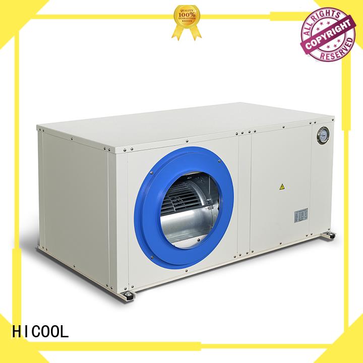 HICOOL Brand cooling circulating custom water source heat pump cost