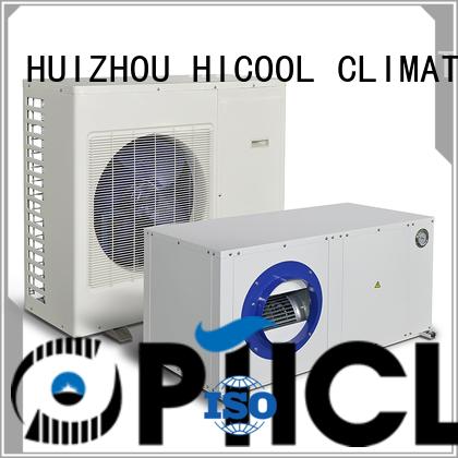 HICOOL Brand light yachts control split heat pump