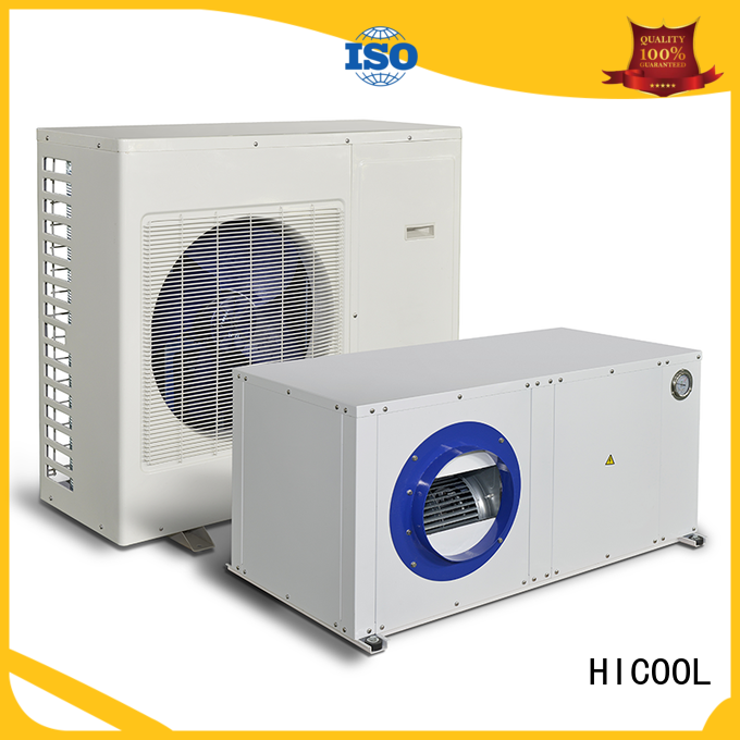 HICOOL cost-effective split system heating and cooling with good price for achts