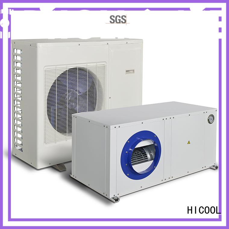 temperature humidity OEM split heat pump HICOOL