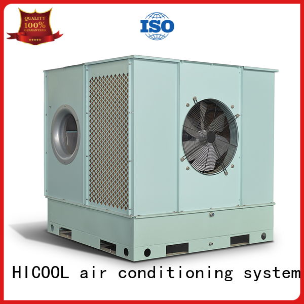 direct and indirect evaporative cooling greenhouse HICOOL Brand evaporative cooling unit