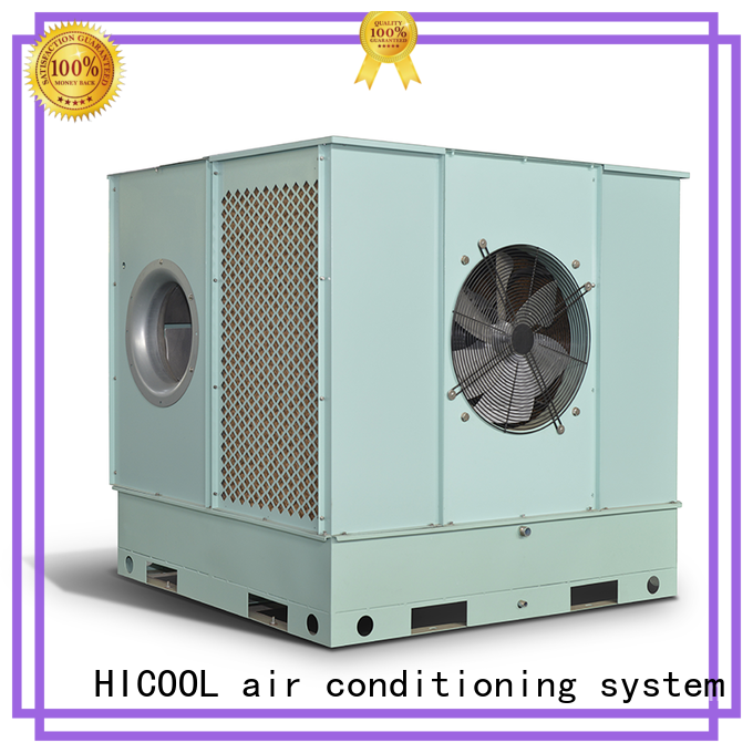greenhouse evaporative cooling unit cooling horticulture HICOOL company