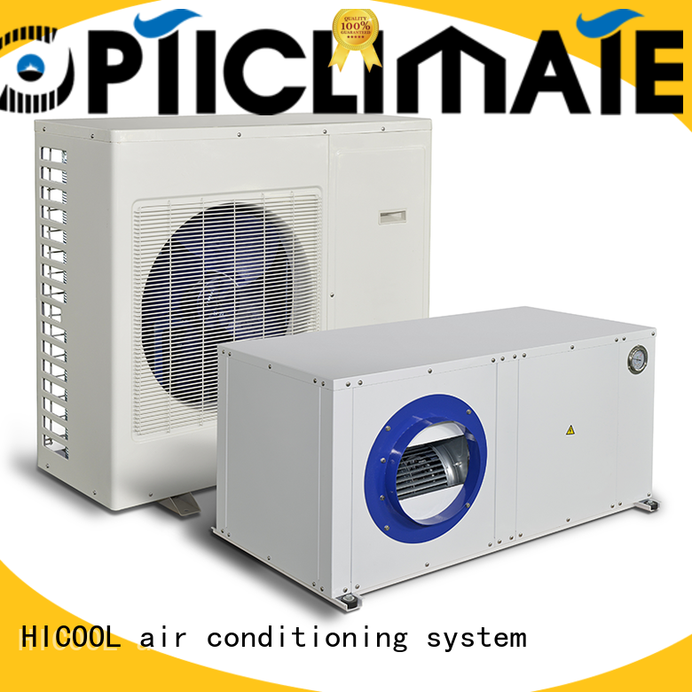 HICOOL water cooled evaporative air conditioning best supplier for horticulture