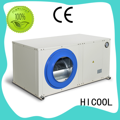 HICOOL effectively OptiClimate units for horticulture industry