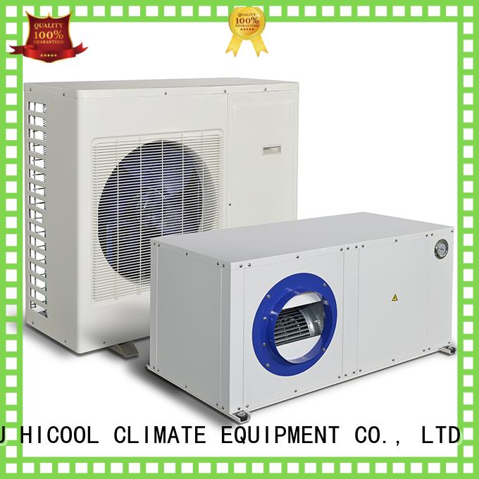 split system heating and cooling luminosity control plant HICOOL Brand split heat pump