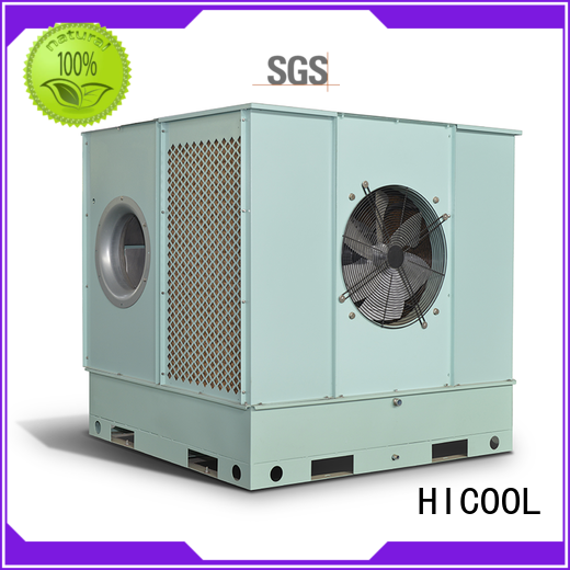 HICOOL Brand humidity evaporative cooling unit light factory