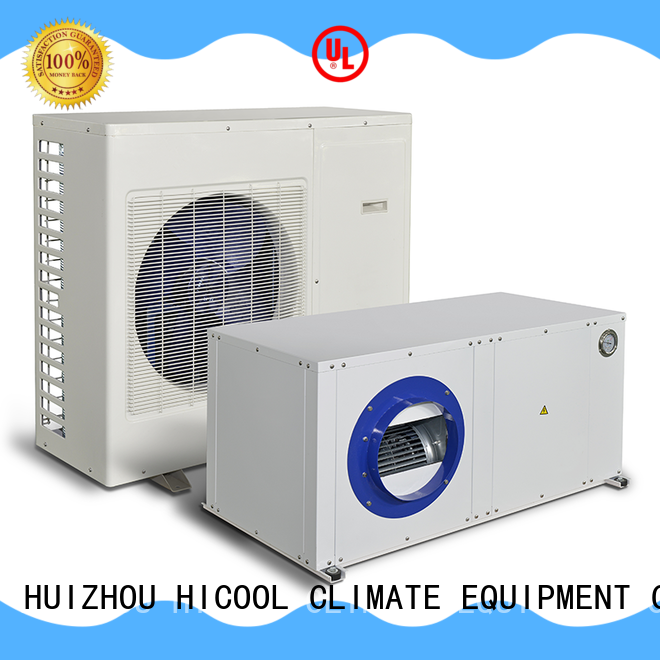 split system heat pump conditioner for horticulture industry HICOOL