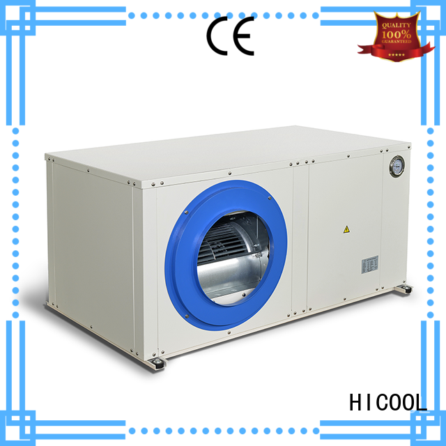 HICOOL water source heat pump supply for achts