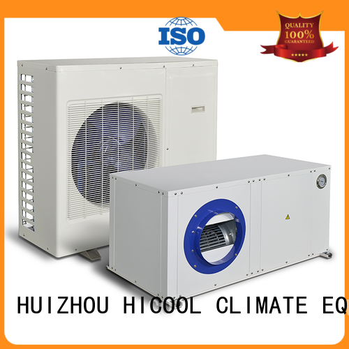 offices yachts horticulture HICOOL Brand split system heating and cooling factory