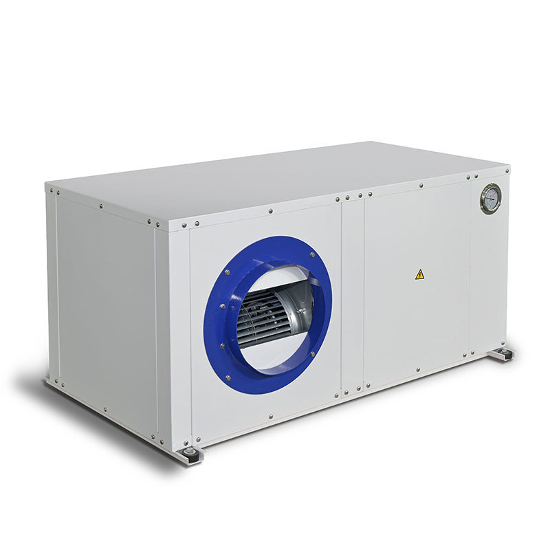 The light-controlled 36-kilowatt air-conditioning has been packaged and shipped to Romania
